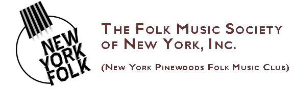 Folk Music Society of New York - home page